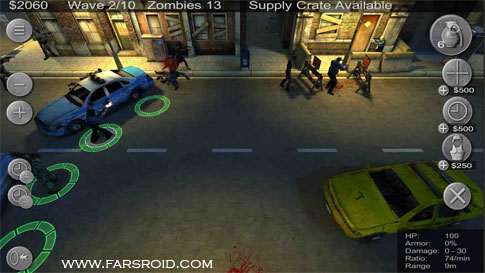 دانلود Zombie Defense 12.7 – بازی اکشن دفاع زامبی اندروید + مود