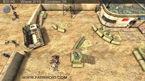 Zombie Defense Android - بازی جدید اندروید