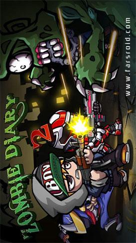 Zombie Diary 2:Evolution - بازی جدید اندروید