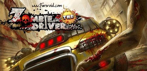 دانلود Zombie Driver THD - بازی ماشین سواری کشتن زامبی اندروید + دیتا