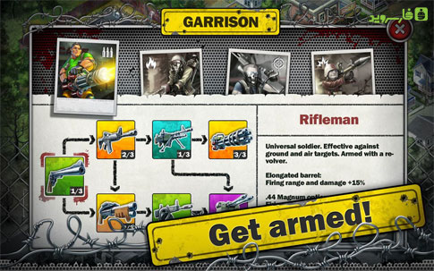 Zombies: Line of Defense Free Android
