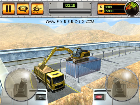 coop - Excavator Android - بازی بیل مکانیکی اندروید