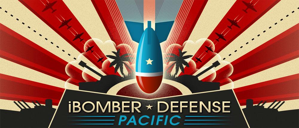 دانلود iBomber Defense Pacific - بازی دفاعی اندروید + دیتا