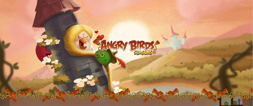 دانلود Angry Birds Seasons - بازی پرندگان عصبانی فصل ها