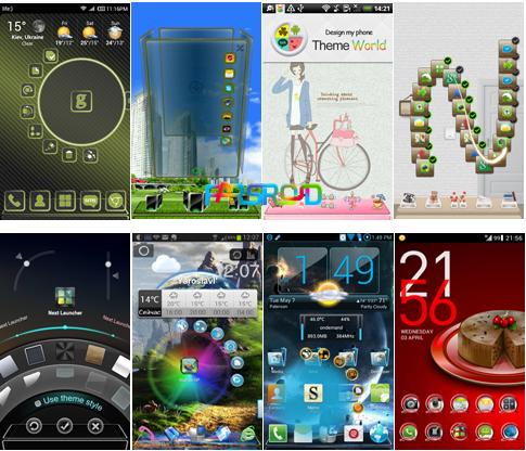 معرفی و دانلود 10 تم جدید و زیبا برای Next Launcher اندروید