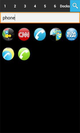 ADW APEX GO - ICS Optics EX Android تم اندروید