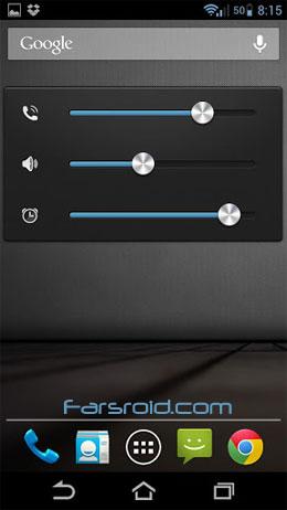 دانلود Alloy Light Blue Theme CM10.1 1.4.3 – تم حرفه ای اندروید