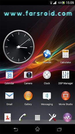 CM10.1 CM9 Sony XPERIA Z theme For Android