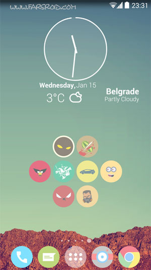 Download Cryten - Nova, Apex, Adw Android Theme - NEW