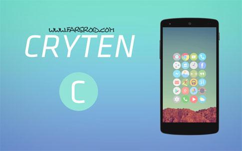 دانلود Cryten - Nova, Apex, Adw - تم منحصر به فرد و جدید اندروید