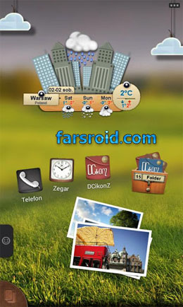 DCikonZ TSF Shell Theme Android