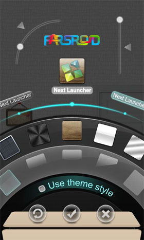 Dreamhouse Next Launcher Theme