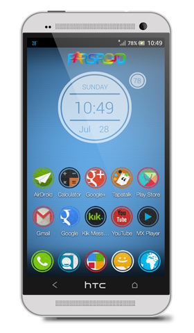 Download Flacles Multilauncher Theme Android APK - NEW