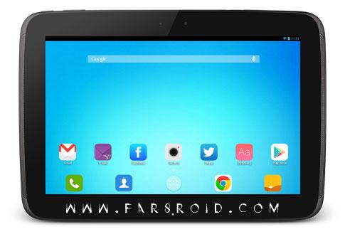 Flaticons Apex Nova ADW Theme Android - تم جدید آندروید