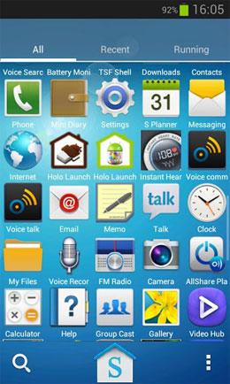 دانلود Galaxy S4 HD Multi Launcher Theme 1.0 – تم گلکسی اس 4