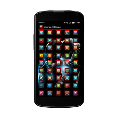 IRONMAN HD APEX/ADW/NOVA/GO Android - تم مرد اهنی اندروید