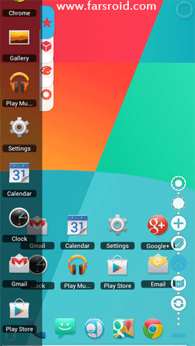 KitKat 4.4 Launcher Theme Android تم اندروید