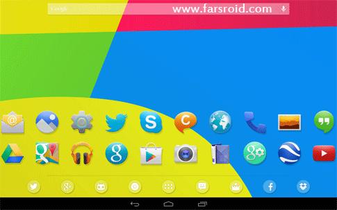 Download KitKat 4.4 Launcher Theme Android Apk - NEW