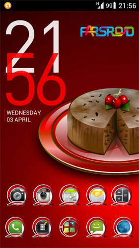 Next Launcher Theme RedLi