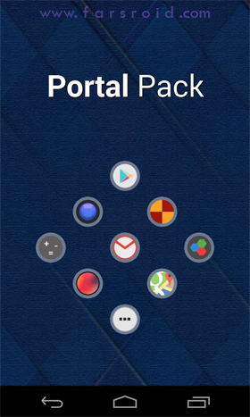 Download Portal Pack: Nova Apex ADW Android APK