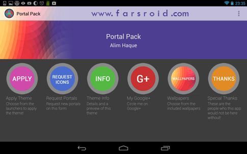 دانلود Portal Pack: Nova Apex ADW 1.0 - تم جدید اندروید !