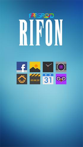 Rifon - Apex, Nova, ADW, GO Android تم اندروید
