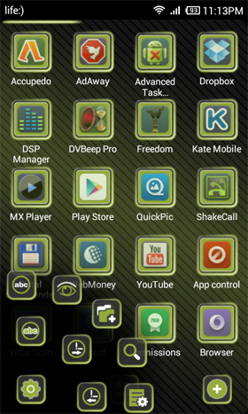 RoyalGreen Next Launcher Theme