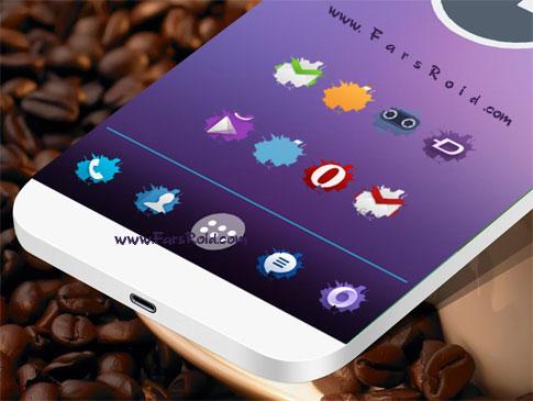 SPLASH ICONS APEX/NOVA/ADW Android - تم جدید آندروید