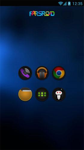 دانلود STEALTH – Go Apex Nova Theme 2.4.3 – تم جدید و شیک اندروید