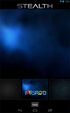 Download STEALTH - Go Apex Nova Theme Android Apk