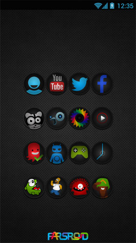Download STEALTH - Go Apex Nova Theme Android Apk