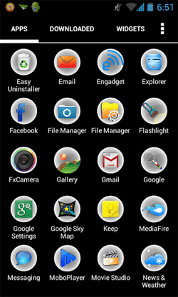 Splashy HD Apex / Nova Theme Android