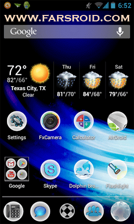 Download Splashy HD Apex / Nova Theme Android