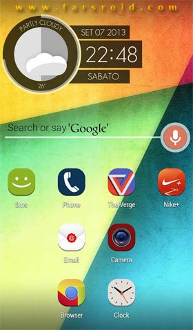 Download Stock UI Icon Theme Apex Nova Android Apk