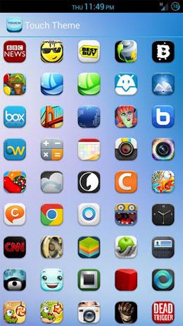 TOUCH APEX/NOVA THEME Android