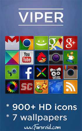 VIPER - Go Apex Nova theme Android تم اندروید