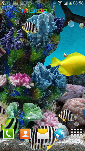 3D Aquarium Live Wallpaper PRO Android والپیپر اندروید