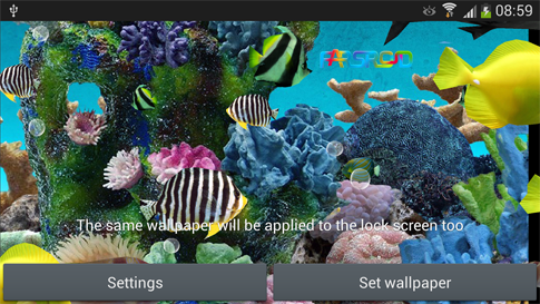 3D Aquarium Live Wallpaper PRO Android