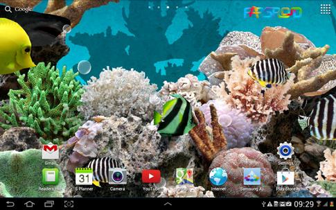 دانلود 3D Aquarium Live Wallpaper PRO - آکواریوم سه بعدی اندروید