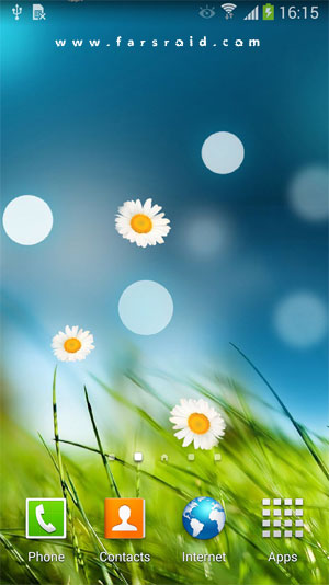 3D Flowers Live Wallpaper Android - 3D Android Wallpaper