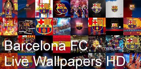 دانلود Barcelona FC Live Wallpapers - والپیپر تیم بارسلونا