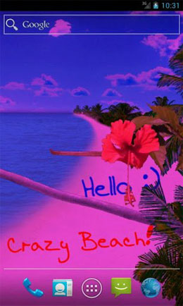 دانلود Beach Live Wallpaper Pro 2.4.0 – والپیپر واقعی ساحل اندروید