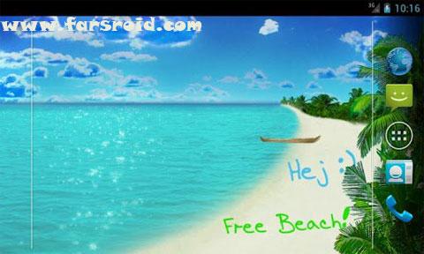 دانلود Beach Live Wallpaper Pro اندروید