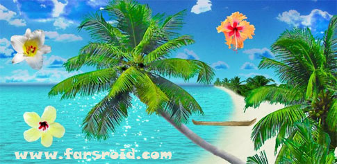دانلود Beach Live Wallpaper Pro - والپیپر واقعی ساحل