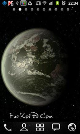 دانلود Earth HD Deluxe Edition 3.5.0 – لایو والپیپر سیاره زمین اندروید