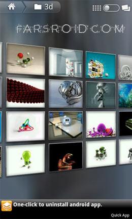 دانلود Flikie Wallpapers HD 3.7.7 – مجموعه والپیپر باکیفیت اندروید