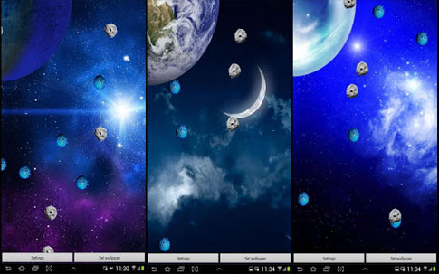 Galaxy Play Livewallpaper Android