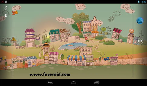 Hand-Drawn City Wallpaper PRO Android - والپیپر اندروید