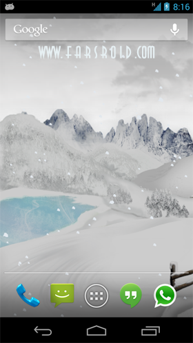Mountain Weather LWP Android APK