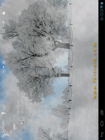 دانلود Nature Live Weather LWP 1.2.6 – لایو والپیپر طبیعت جدید اندروید